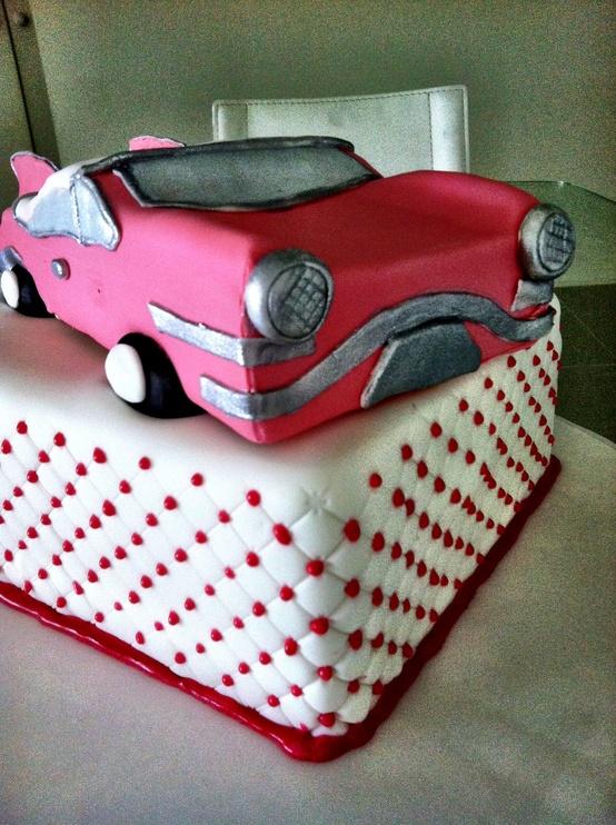 Groom's Cake: Car