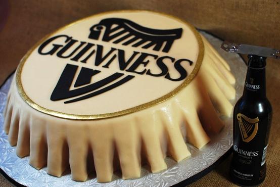 Groom's Cake: Guinness