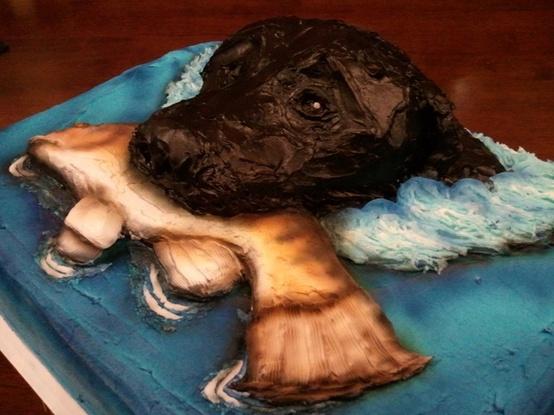 Animal Groom's Cake