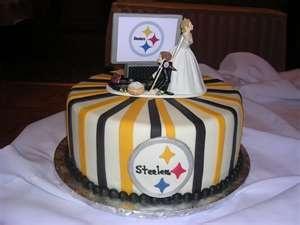 Steelers Wedding Cake
