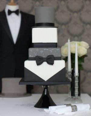 Groom's Cake - Tuxedo