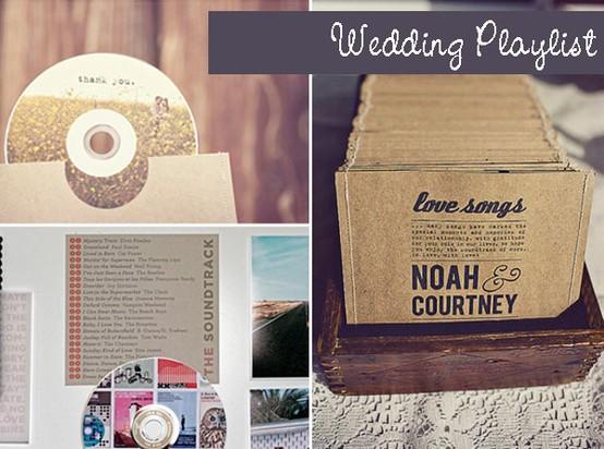 Wedding Playlist: Personalized CD