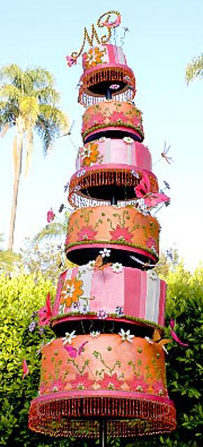 Celebrity Wedding Cake