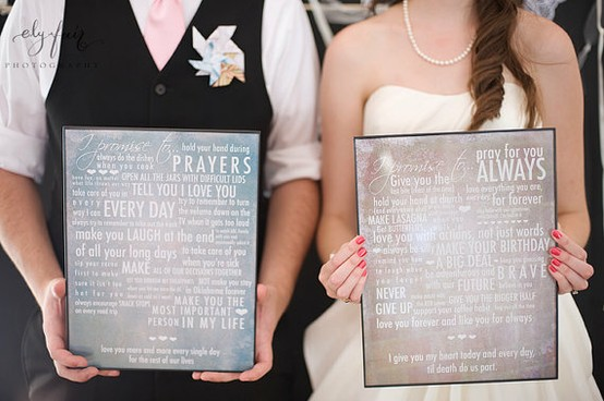 Write Your Own Wedding Vows