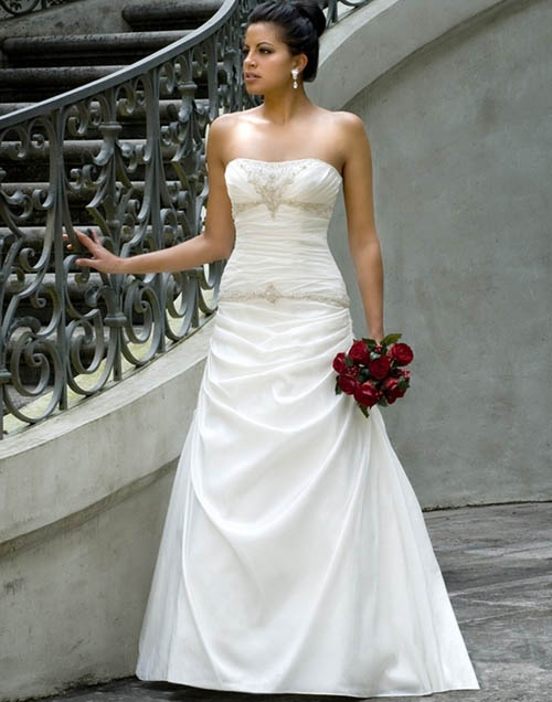 Traditional White Wedding Dress