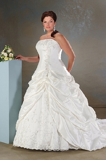 wedding dresses for full figures