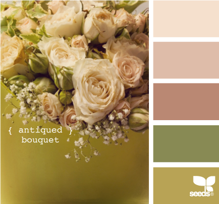 Rose and Gold Victorian Theme