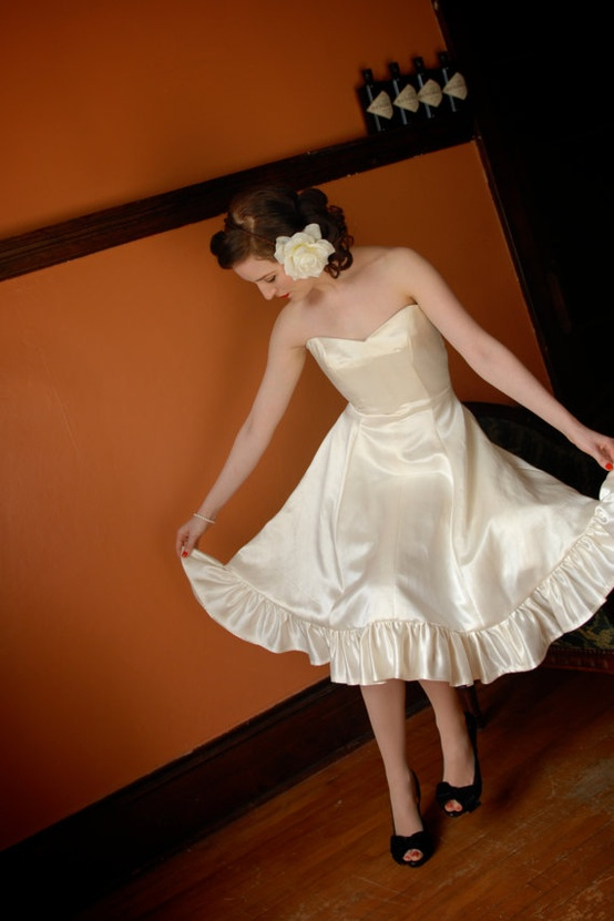 Hemp Silk Wedding Dress