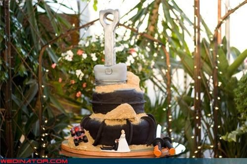 Wedding Cake with ATV
