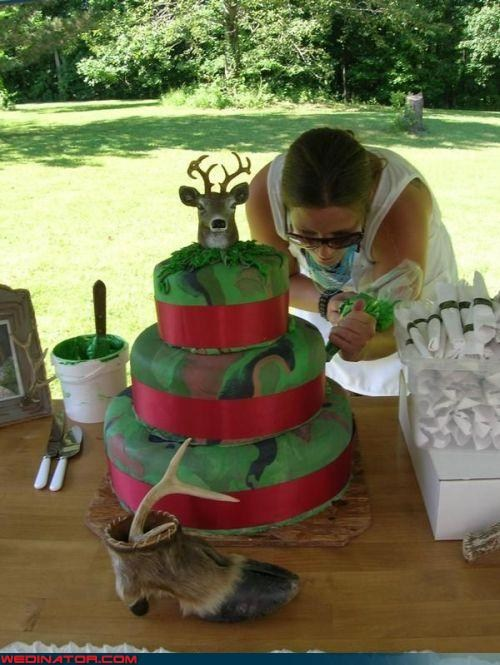 Hunting Wedding Cake