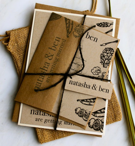 Eco-Friendly Wedding Invites