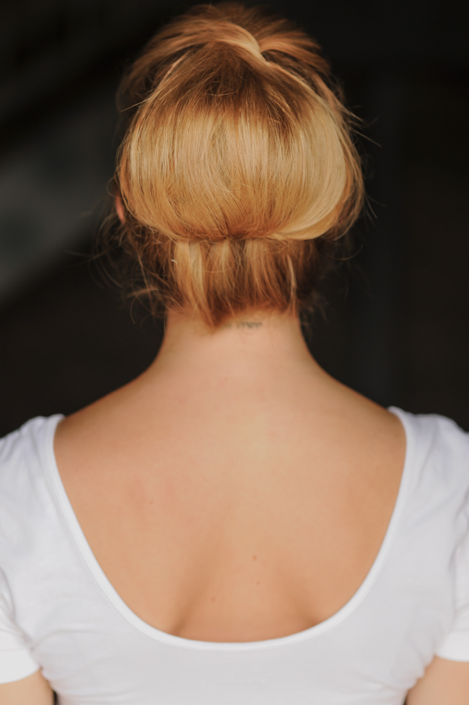 High Twisted Chignon
