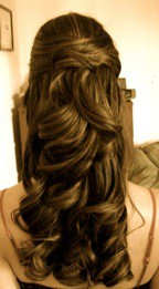 Wedding Hairstyle - Half Up