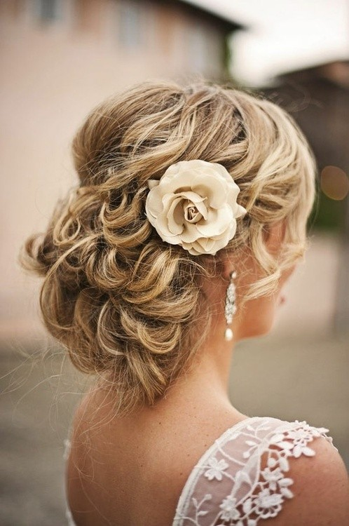 Wedding Hairstyle - Low Bun