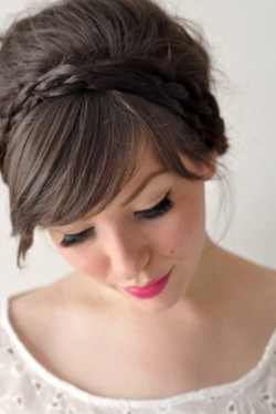 Wedding Hairstyles - Braid Headband