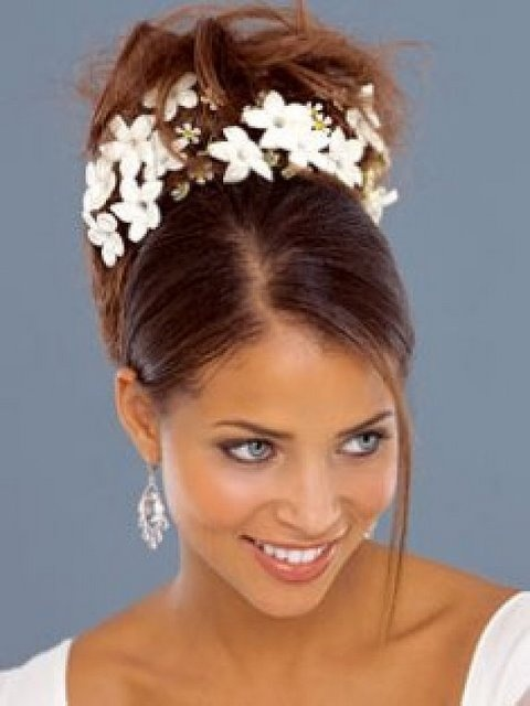 Wedding Hairstyles - Flowers