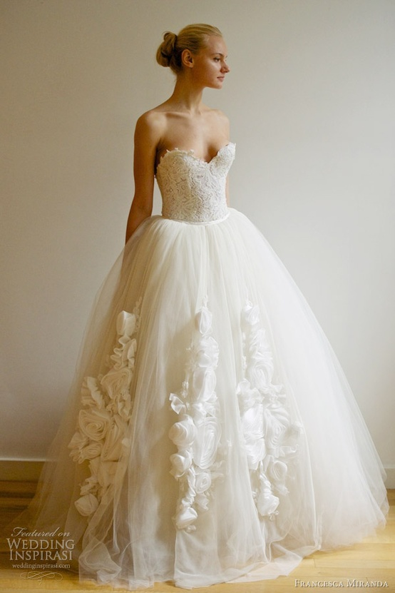 Francesca Miranda Spring 2013 Wedding Dress