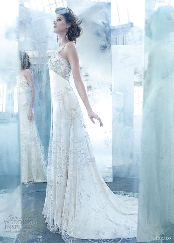 Lazaro Spring 2013 Wedding Dress