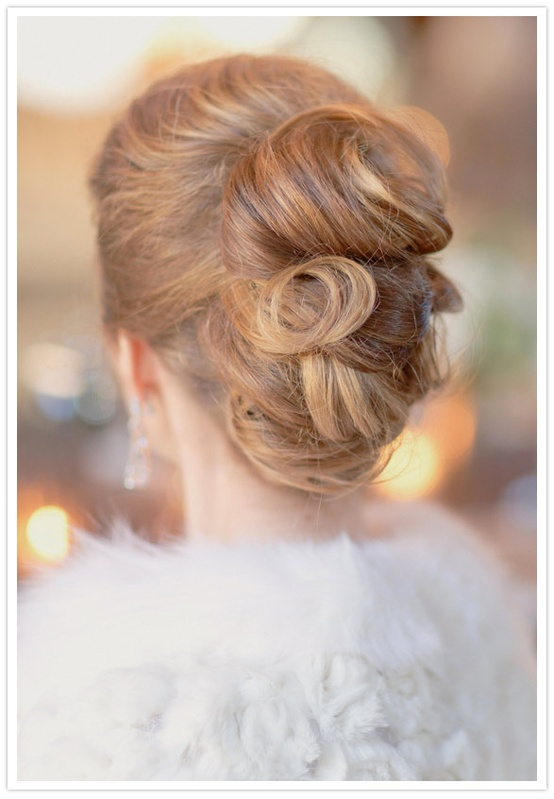 Wedding Hairstyle - Chignon