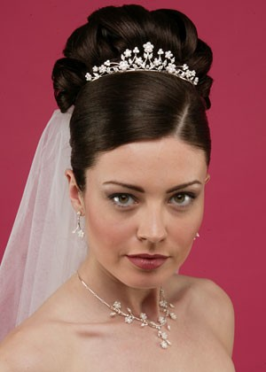 Wedding Hairstyles - Sleek Updo
