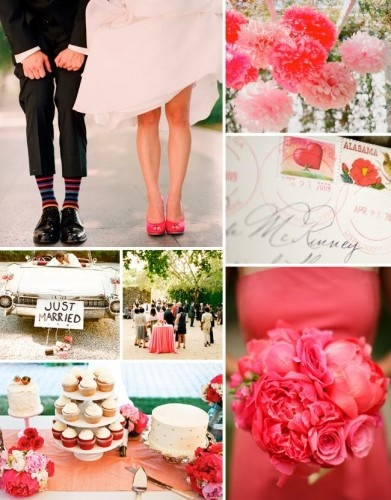 4 Beautiful Spring Wedding Color Palettes | eWedding