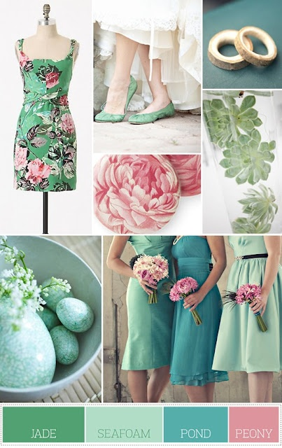 4 beautiful spring wedding color palettes ewedding 4 beautiful spring wedding color palettes junglespirit