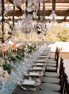 Vintage Wedding - Chandelier