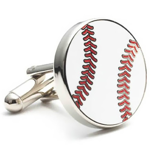Baseball Theme Cufflinks for Groomsmen