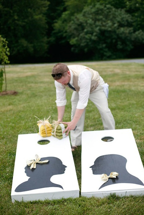 Outdoor Wedding Reception: Super Fun Game Ideas | eWedding