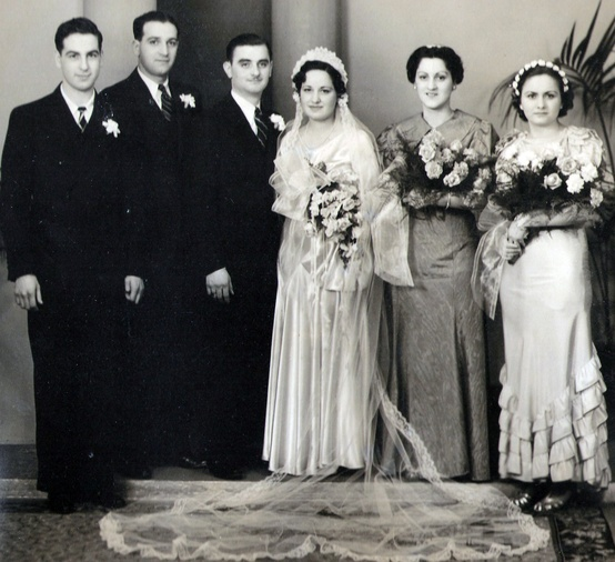 1930's Wedding Attire
