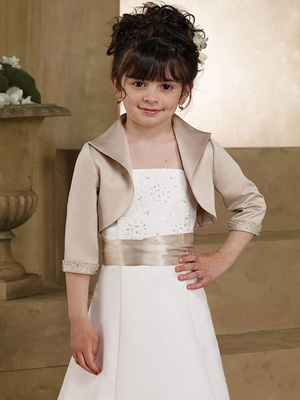 Sleek and Stylish Flower Girl Dress