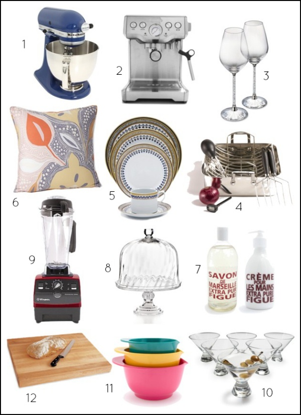 Wedding Registry Items