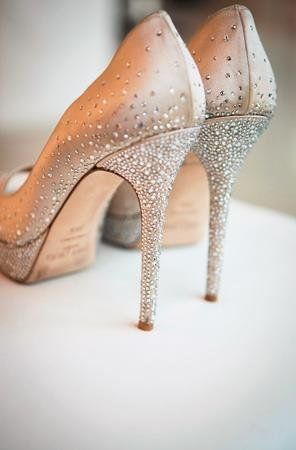 Wedding Shoes with Rhinestones