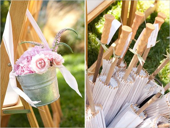 Parasols for Wedding Guests