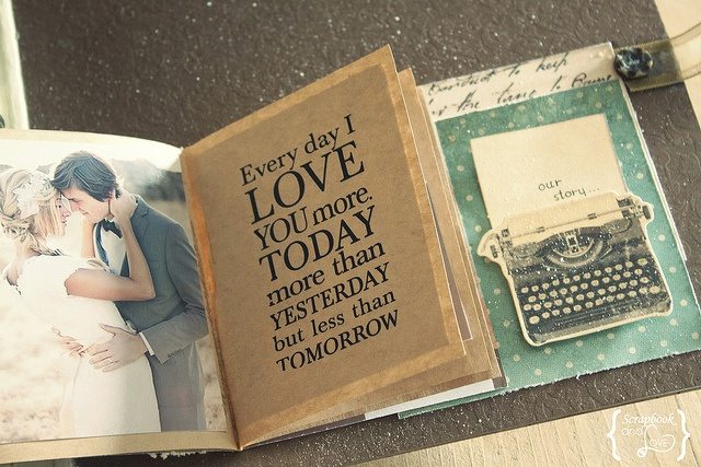 Wedding Scrap Book