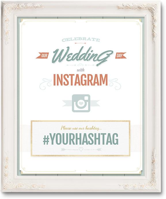 Wedding Hashtag Generator: Free Wedding Hashtag Posters